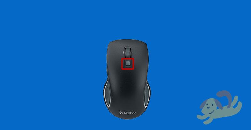 m560のセンターボタン
