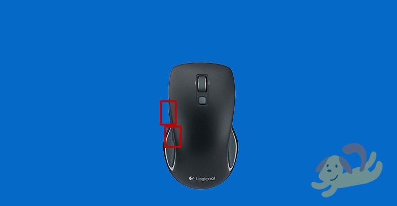 m560の親指ボタン