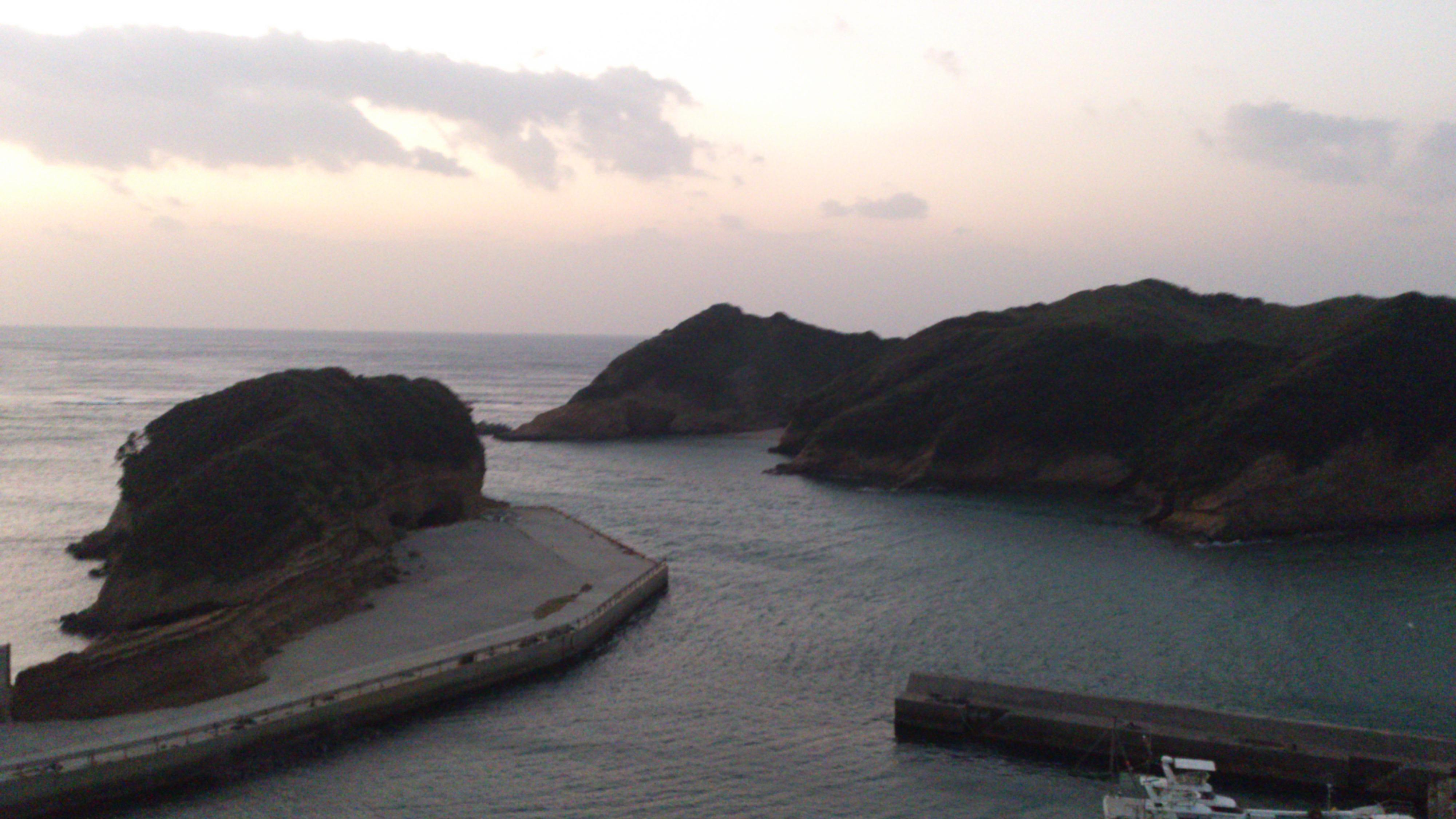 2012年12月。僕は種子島を一人で旅した:竹崎展望台で撮影②(これもたぶん)