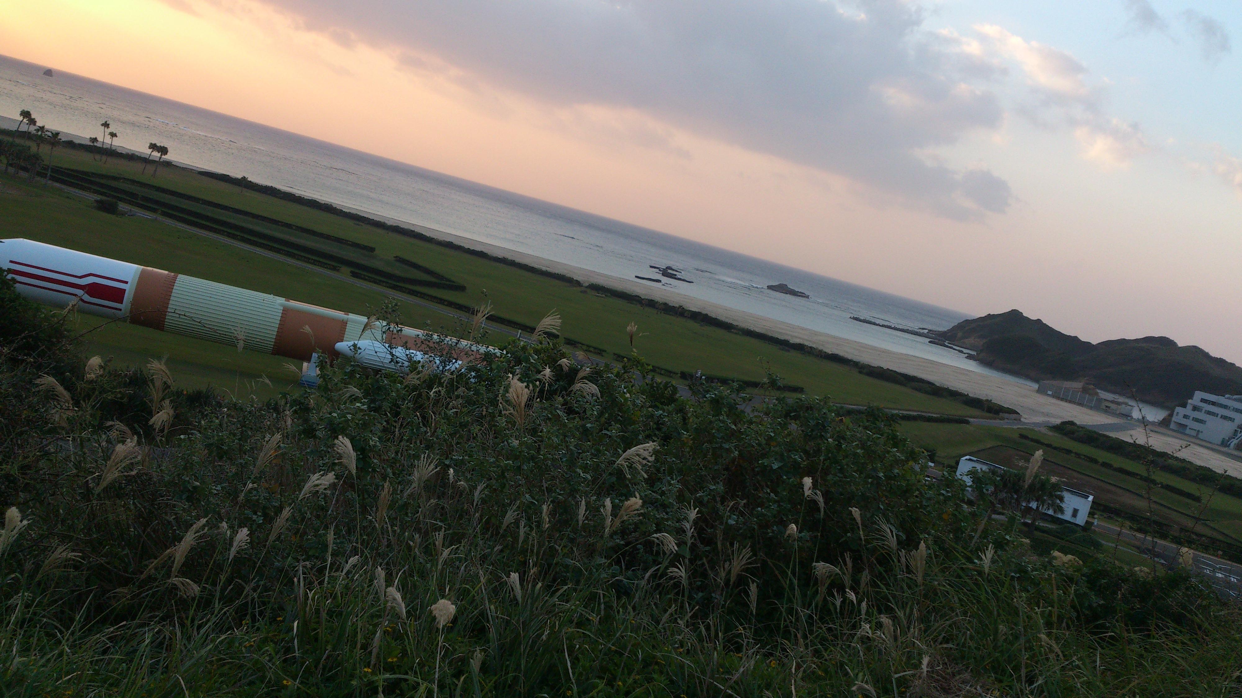 2012年12月。僕は種子島を一人で旅した:ロケットのオブジェクト③
