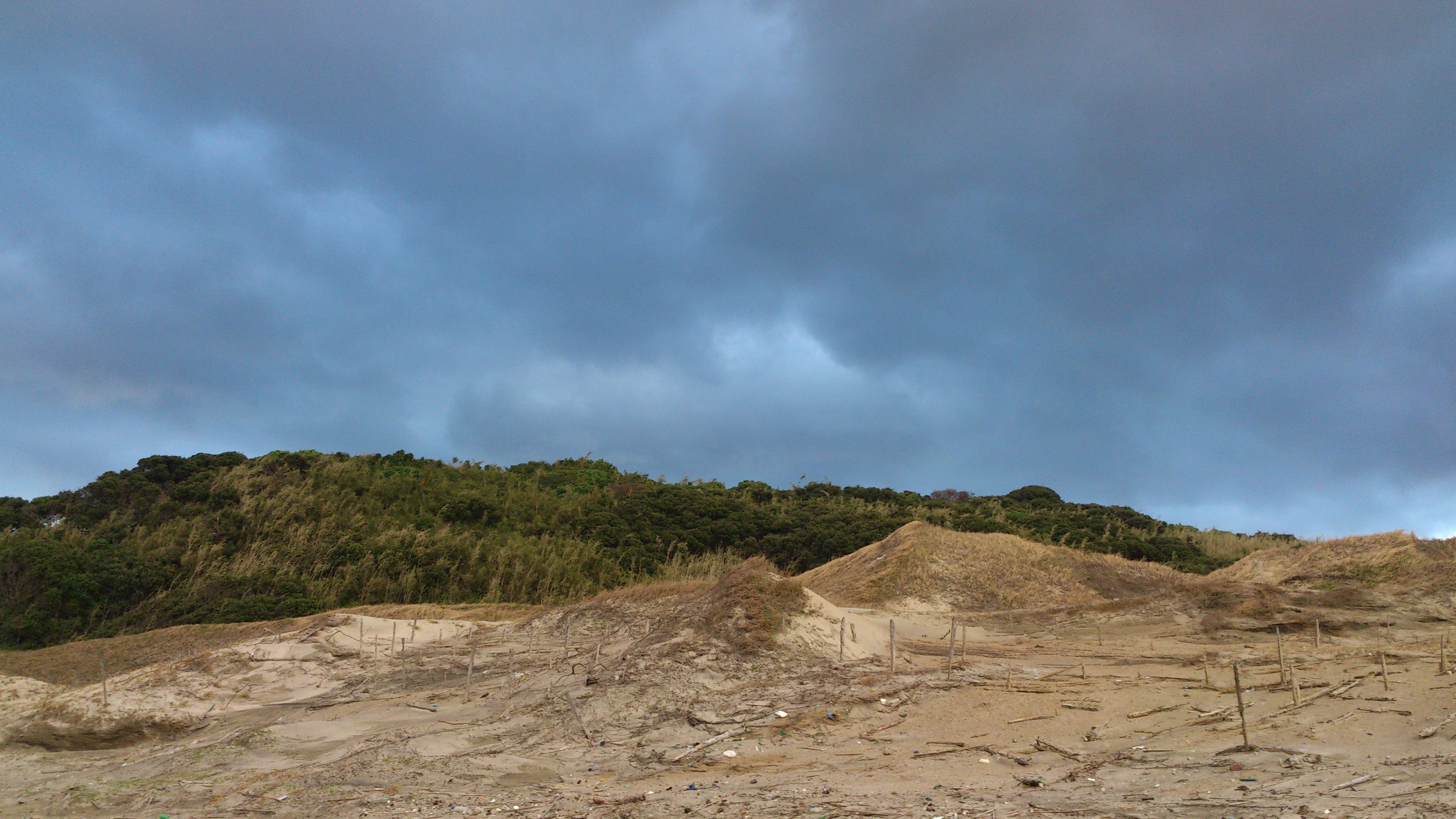 2012年12月。僕は種子島を一人で旅した:絶妙な曇りと岩肌