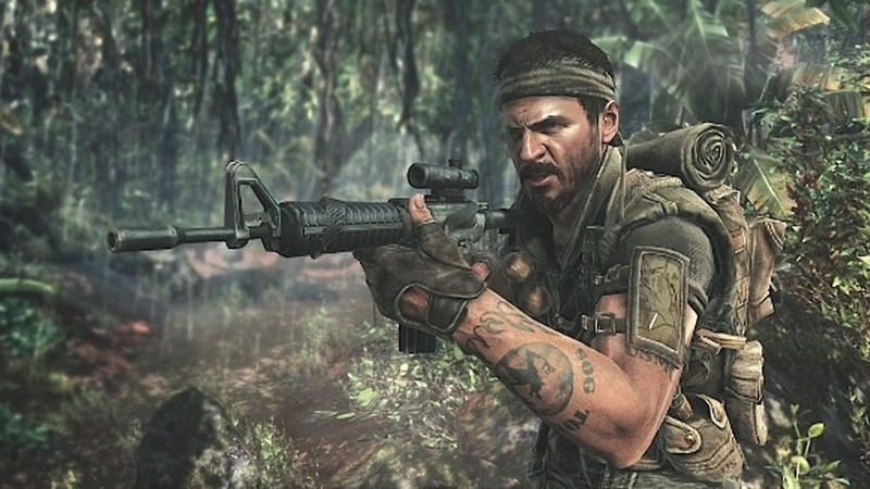 Black Opsの人気キャラ「フランク・ウッズ」