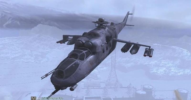 COD4MWの攻撃ヘリ