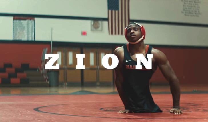 【Netflix】11分のドキュメンタリー「ザイオン」下半身が無いレスリング選手