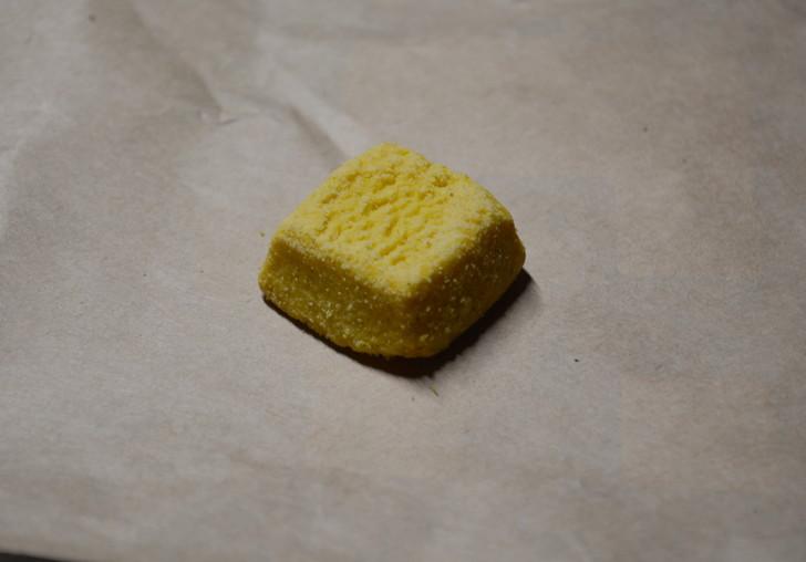 セブンの「ひとくち焼きショコラ」の体験レビュー:「ひとくち焼きショコラ」の安納芋味