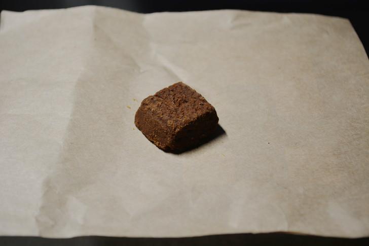 セブンの「ひとくち焼きショコラ」の体験レビュー:「ひとくち焼きショコラ」のチョコレート味