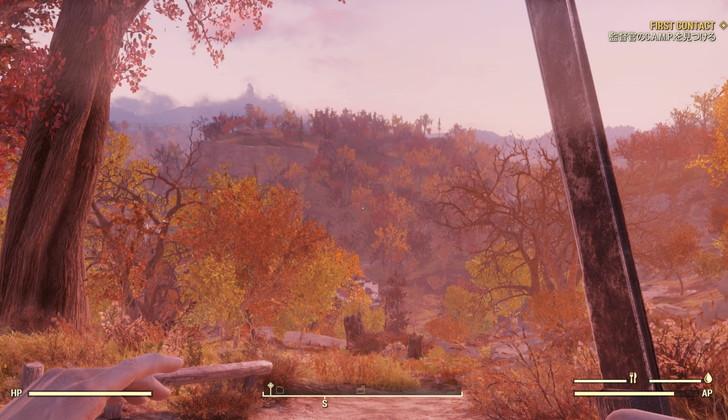 「Fallout76(フォールアウト76)」過去作との違い・変更点10個:76の舞台は、アメリカ合衆国東部に位置する「アパラチア」です。
