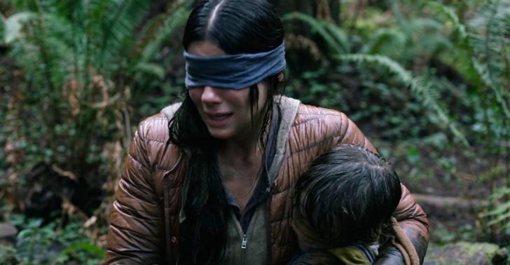 【55点】目を開けたら即死・・・「バードボックス」評価と感想【Netflix】