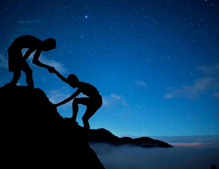 誰だって、人に親切をする時は勇気を出している