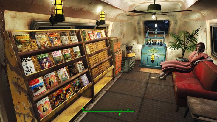 「fallout4散歩」の魅力⑥クラフト要素のおかげでガラクタ集めが楽しい