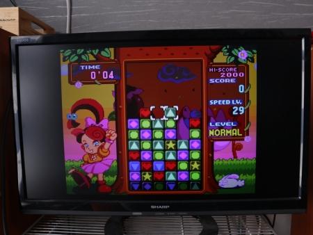 「パネルでポン」ゲーム画面